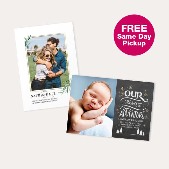 FREE Same Day Pickup. 50% off Cards & Stationery