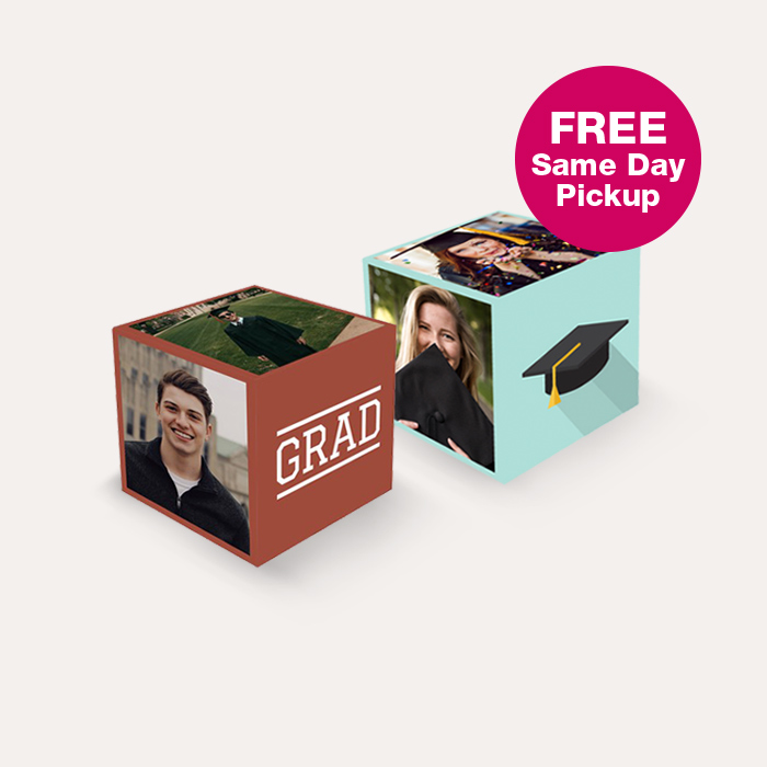 FREE Same Day Pickup. BOGO FREE Photo Cubes
