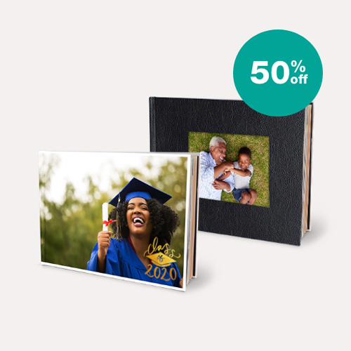 50% off Photo Books