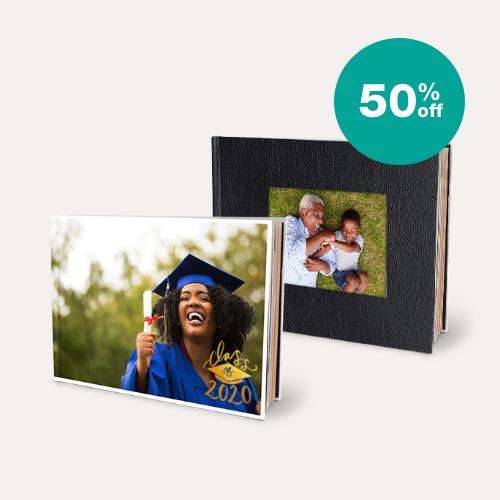 50% off Photo Books
