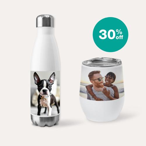 30% off Drinkware