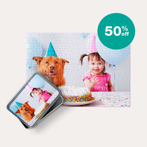 50% off  NEW! Same Day Puzzles