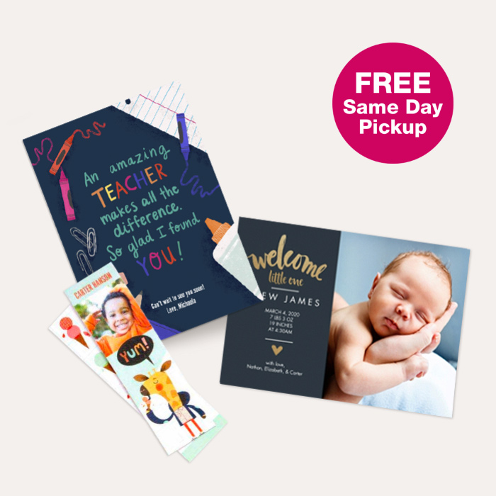 FREE Same Day Pickup. 60% off All Cards & Premium Stationery.