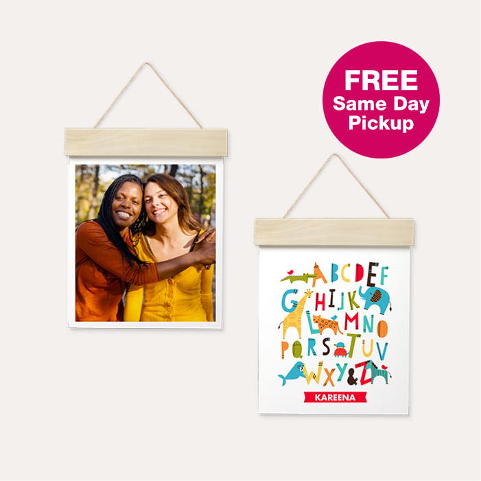 FREE Same Day Pickup. 50% off Wood Hanger Board Prints.