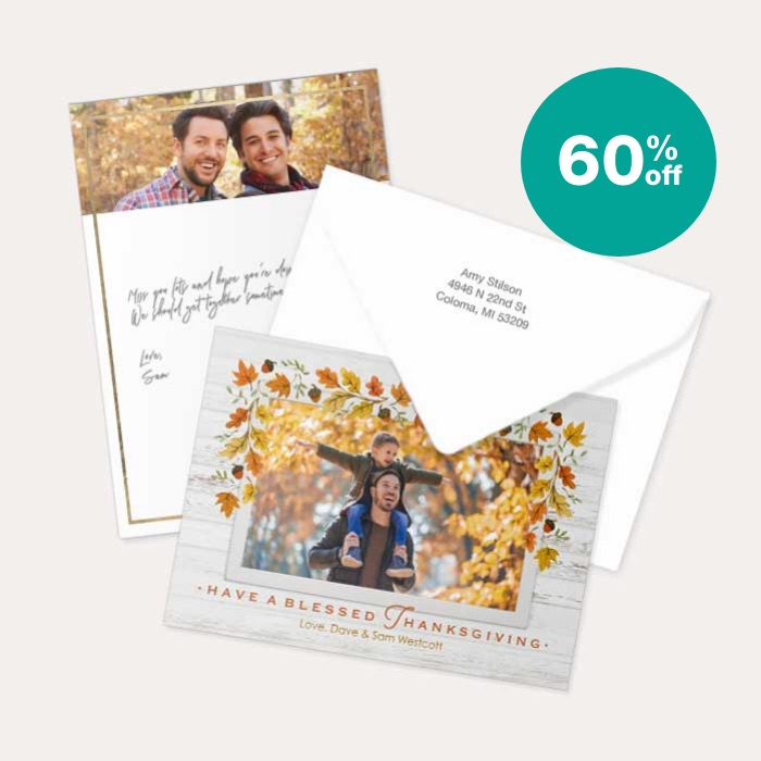 60% off All Cards & Premium Stationery