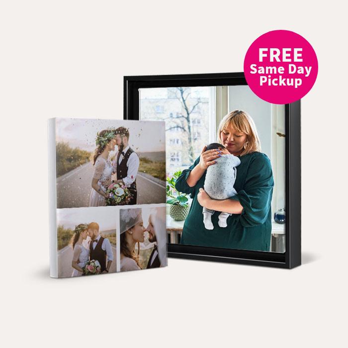 FREE Same Day Pickup. 60% off Same Day Canvas Prints