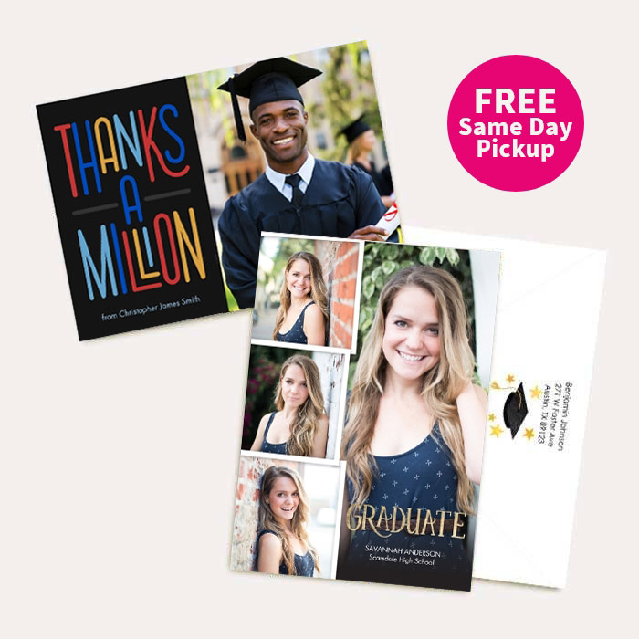 FREE Same Day Pickup. 50% off Cards & Premium Stationery.