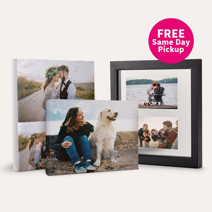 FREE Same Day Pickup. 50% off Canvas Prints & Floating Frames.