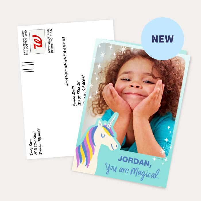 NEW. 50% off Hallmark Personalized Cards