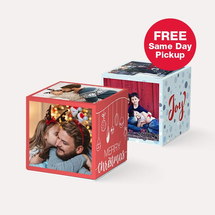 BOGO 3x3 Photo Cubes