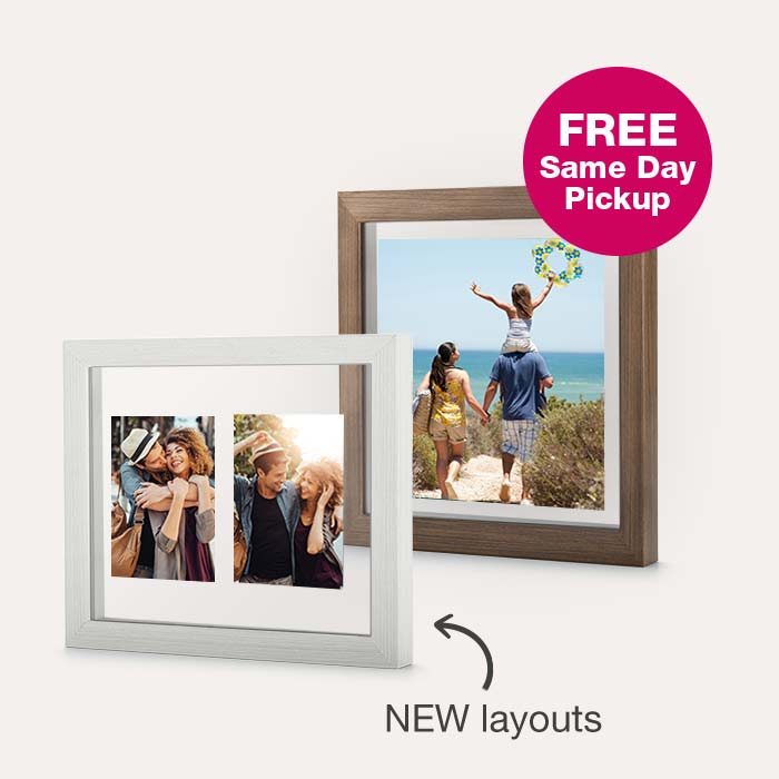 40% off Custom Floating Frames