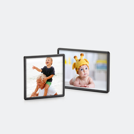 "4"" x 4"" or 4"" x 6"" Framed Photo Magnet"