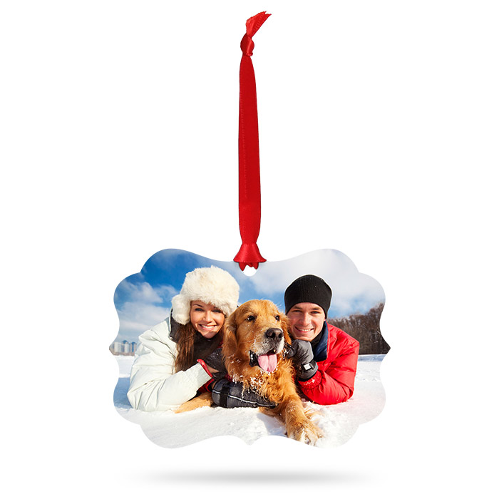 Designer Photo Snowflake Ornament - Create Custom Ornaments ...