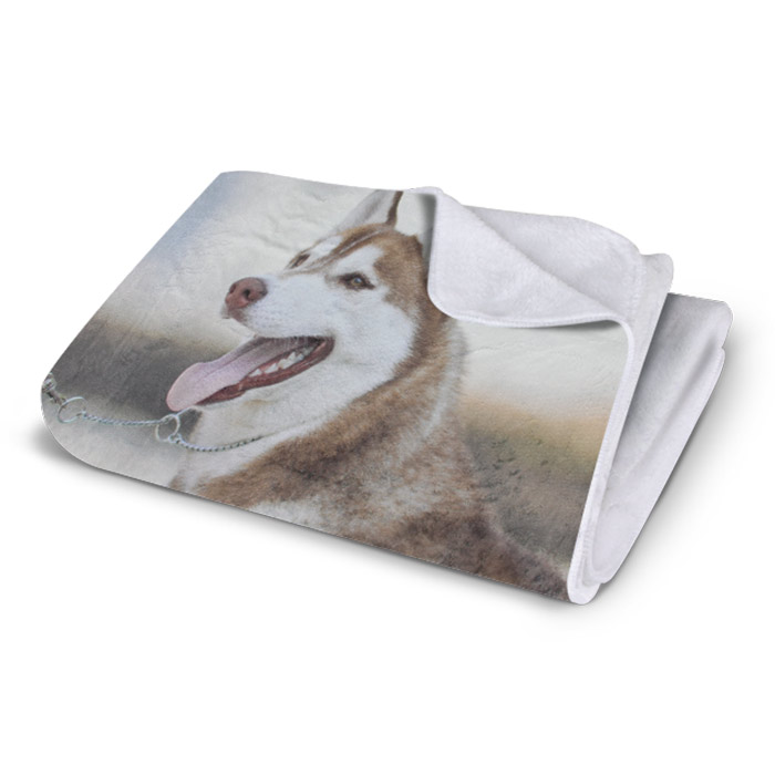 Plush Fleece Photo Blanket